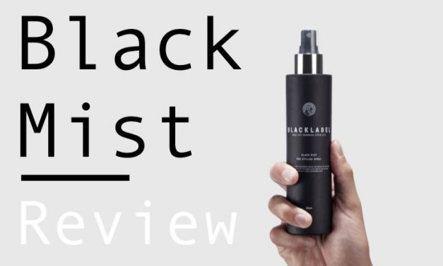 Black Label Black Mist Review – Pre styling Sea Salt Spray