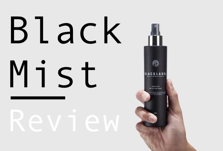 Black Label Black Mist Review – Pre styling Sea Salt Spray
