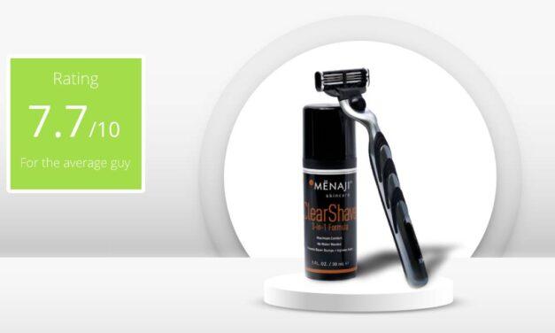 Review – Menaji Men's ClearShave 3-in-1 Formula Shaving Gel