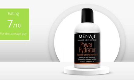 Review – Menaji Men's Power Hydrator | A handy all-rounder!